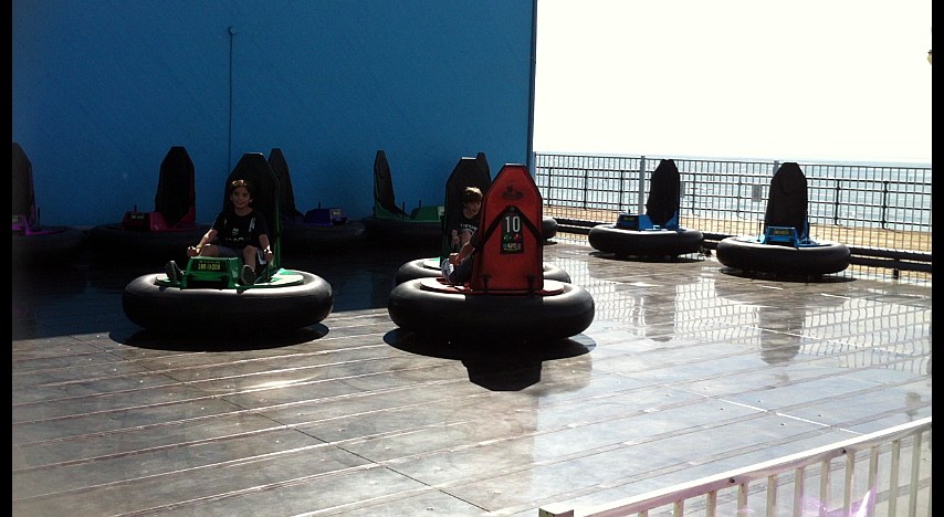 Our First Visit to the Santa Monica Pier