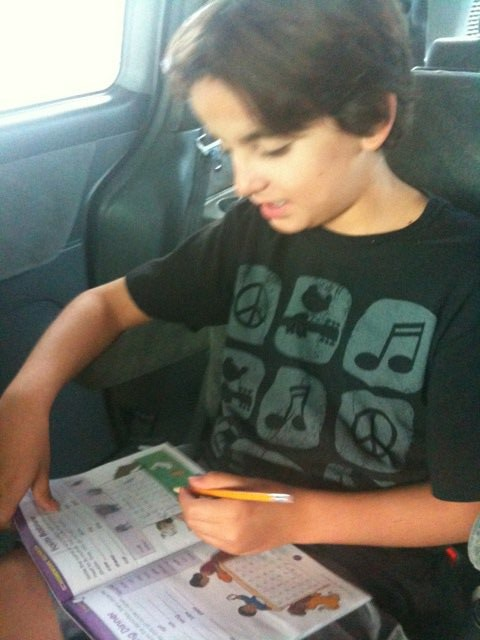 Homeschooling on the Hwy.