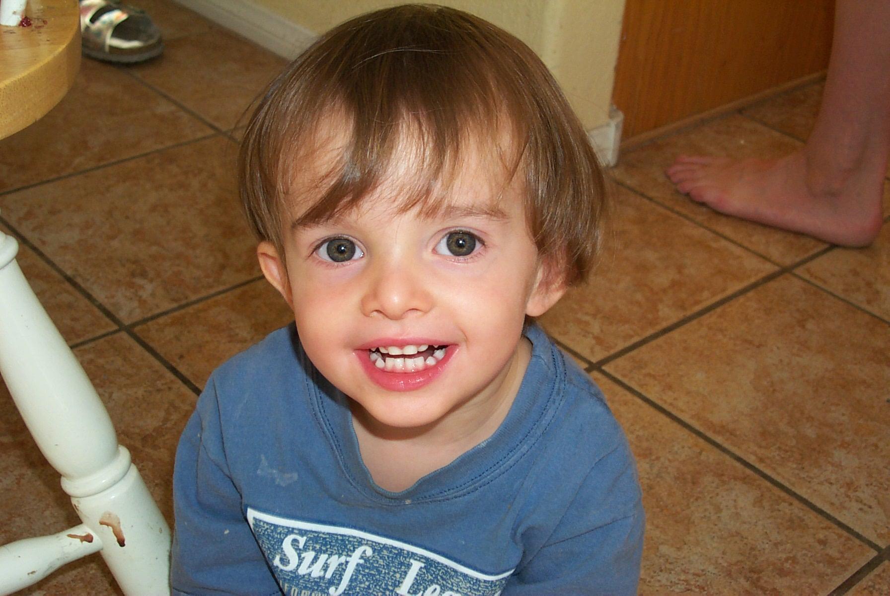 When Blake was 2.