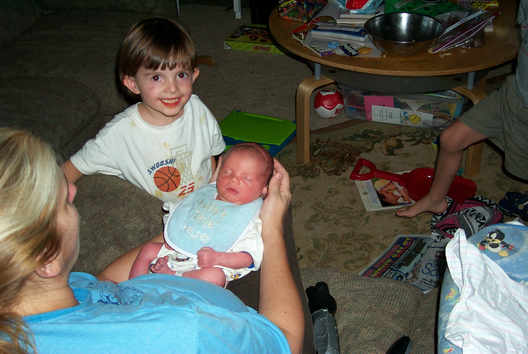 Aiden's Arrival 2004