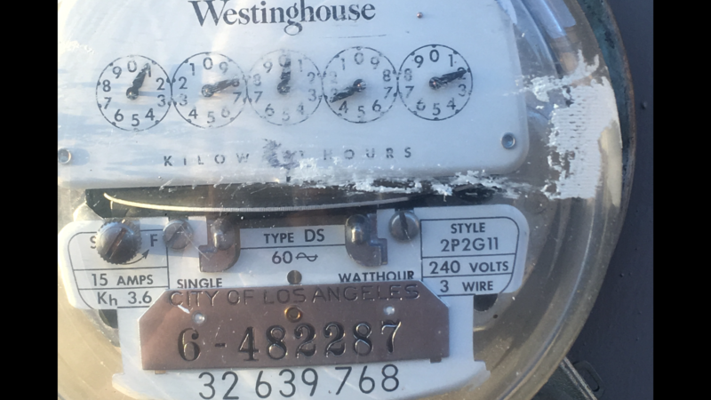 Why did I get up at 7am on August 29th, ladwp customer meter