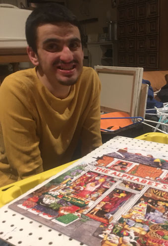 Mr. Kyle and His Puzzles