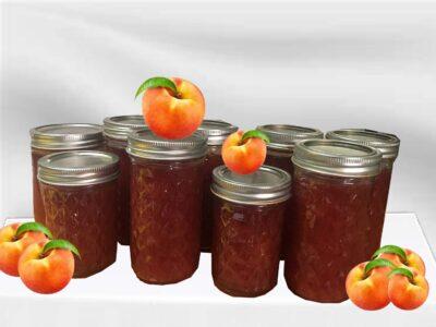 Super Easy Recipe to Can Peach Jam !